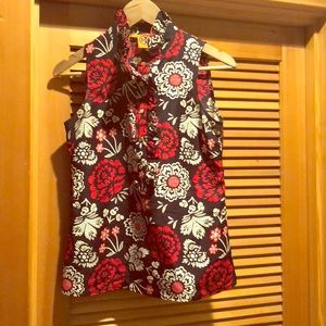 Tory Burch ruffled blouse! Classic and beautiful!